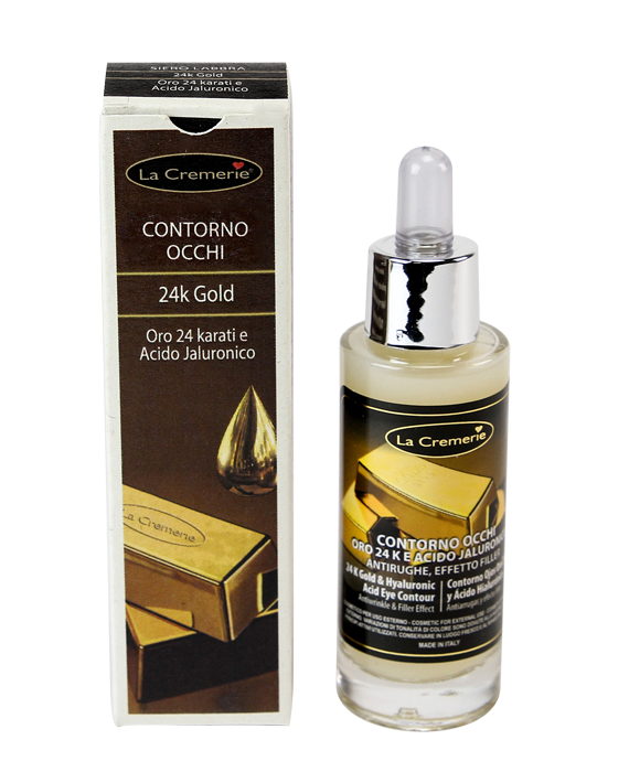 Ser contur ochi Aur si Acid hyaluronic